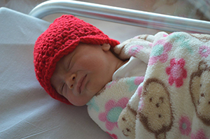 1ec343c5153 ... Advocate Children s Hospital will distribute red crocheted hats to all  babies born in February to help raise awareness about heart disease